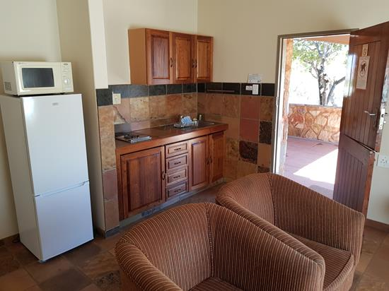 Blyde Canyon, A Forever Resort: 2-Sleeper Chalet. 1 bedroom (2 single beds)